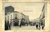 Cartolina d'epoca - Via Etnea  - Giarre (7640 clic)