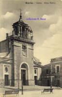 Cartolina d'epoca - Chiesa Matrice  - Giarre (6898 clic)
