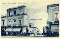 Cartolina d'epoca - Corso Italia  - Giarre (4597 clic)