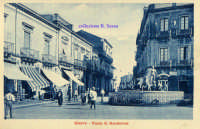 Cartolina d'epoca - Piazza Alessi  - Giarre (3471 clic)