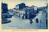 Cartolina d'epoca - Piazza Alessi  - Giarre (4020 clic)