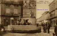 Cartolina d'epoca - Piazza Monsignor Alessi - Pupa  - Giarre (4368 clic)