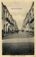 Cartolina d'epoca - Via Archimede  - Giarre (6290 clic)