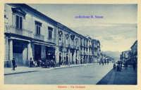 Cartolina d'epoca - Via Callipoli  - Giarre (3274 clic)