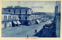 Cartolina d'epoca - Via Callipoli  - Giarre (3331 clic)