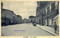 Cartolina d'epoca - Via Callipoli  - Giarre (4865 clic)