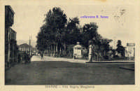 Cartolina d'epoca - Via Callipoli  - Giarre (5966 clic)