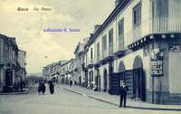 Cartolina d'epoca - Via Etnea  - Giarre (8285 clic)