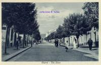 Cartolina d'epoca - Via Etnea  - Giarre (8552 clic)