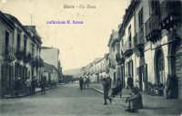 Cartolina d'epoca - Via Etnea  - Giarre (6779 clic)