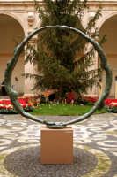 Natale a Catania, mostra di sculture all'interno del palazzo dell'Università..  - Catania (2077 clic)