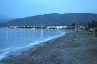 Panorama serale della spiaggia.  - Marinello (8465 clic)