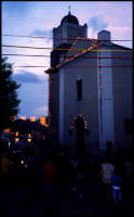 La chiesa Madre addobbata per la festa del grano.  - Raddusa (7514 clic)