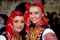 63° Sagra del mandorlo in fiore, gruppo folkloristico della Bulgaria.  - Agrigento (1995 clic)