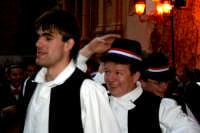 63° Sagra del mandorlo in fiore, il gruppo folkloristico della Croazia si esibisce in una loro danza popolare.  - Agrigento (1992 clic)