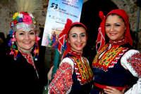 63° Sagra del mandorlo in fiore, gruppo folkloristico della Bulgaria.  - Agrigento (1804 clic)