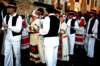 63° Sagra del mandorlo in fiore, gruppo folkloristico della Croazia.  - Agrigento (1812 clic)