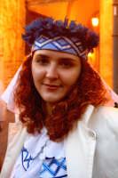 63° Sagra del mandorlo in fiore, un componente del gruppo folkloristico di Israele.  - Agrigento (2087 clic)