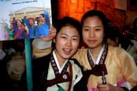 63° Sagra del mandorlo in fiore, gruppo folkloristico della Corea.  - Agrigento (1988 clic)