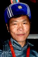 63° Sagra del mandorlo in fiore, un componente del gruppo folkloristico della Mongolia.  - Agrigento (2051 clic)