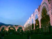 Festa di S.Alfio in Trecastagni,luminarie.  - Trecastagni (6155 clic)