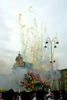 Festa di S.Agata 2006, fuochi pirotecnici in Piazza Carlo Alberto.  - Catania (2118 clic)