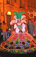 Carnevale 2006, costumi in maschera.  - Misterbianco (2189 clic)