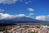 Panorama con vista dell'Etna.  - Paternò (4250 clic)
