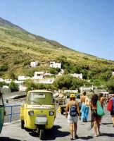 Taxi a Stromboli.  - Stromboli (6861 clic)