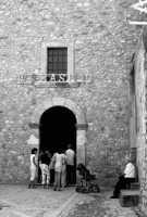 Chiesa di S.Basilio in b/n.  - San marco d'alunzio (3847 clic)
