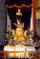 Chiesa di S. Francesco e dell'Immacolata, all'interno della chiesa sono custodite sei della 12 Candelore che sfilano durante la festa di S.Agata.  - Catania (4975 clic)