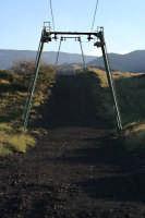Piano Provenzano, la funivia che porta al cratere centrale.  - Etna (6556 clic)