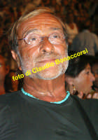 Gianna Nannini in concerto al Teatro Greco di Taormina il 27 luglio 2006, Lucio Dalla in prima fila ad assistere al concerto .  - Taormina (2858 clic)