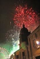 Festa di S.Agata 2006, fuochi pirotecnici.  - Catania (1872 clic)