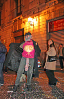 Carnevale di Acireale 2006, persona in maschera.  - Acireale (2199 clic)