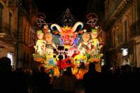 Carnevale di Acireale 2006, sfilata carri allegorici.  - Acireale (2184 clic)
