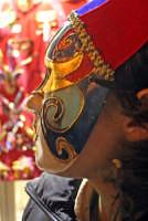 Carnevale di Acireale 2006, ragazza in maschera.  - Acireale (2233 clic)