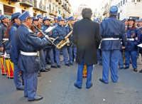 Settimana Santa a Caltanissetta. Anno 2006, banda musicale.  - Caltanissetta (2782 clic)