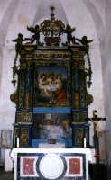 Chiesa di SS. Trinità, interno.  - Forza d'agrò (6921 clic)
