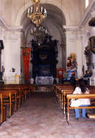 Chiesa di SS. Trinità, interno.  - Forza d'agrò (7109 clic)
