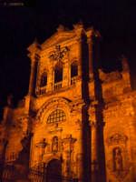 La chiesa di S.Maria Maddalena di Buccheri, di notte.  - Buccheri (1415 clic)