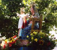 Buccheri. Statua della Madonna delle Grazie, che si festeggia la prima domenica di Settembre.  - Buccheri (4268 clic)