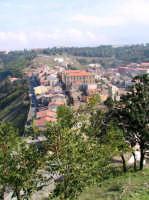 Panorama dal Castello con Via Torino.  - Buccheri (1498 clic)
