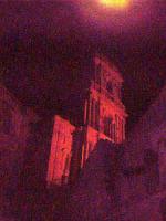 Buccheri,chiesa di S.Antonio, di notte.  - Buccheri (1223 clic)