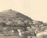 Buccheri, la zona del Castello, anni '40.  - Buccheri (3645 clic)