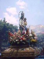 La statua della Madonna SS.ma della Provvidenza di Buccheri.  - Buccheri (2388 clic)