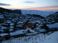 Tramonto con la neve.  - Buccheri (5241 clic)