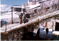 Scalinata e arco chiesa S.Antonio  - Buccheri (2571 clic)