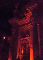 Buccheri. Facciata della chiesa di S.Maria Maddalena, di notte.  - Buccheri (1445 clic)