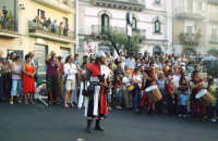 Buccheri, Medfest 2006. Prima della battaglia tra Buccheresi e francesi, 1265.  - Buccheri (1570 clic)